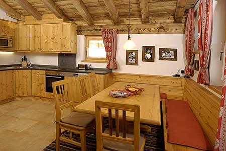 wandern in Österreich - berghütte mit ferienwohnung für 8 personen, Esszimmer