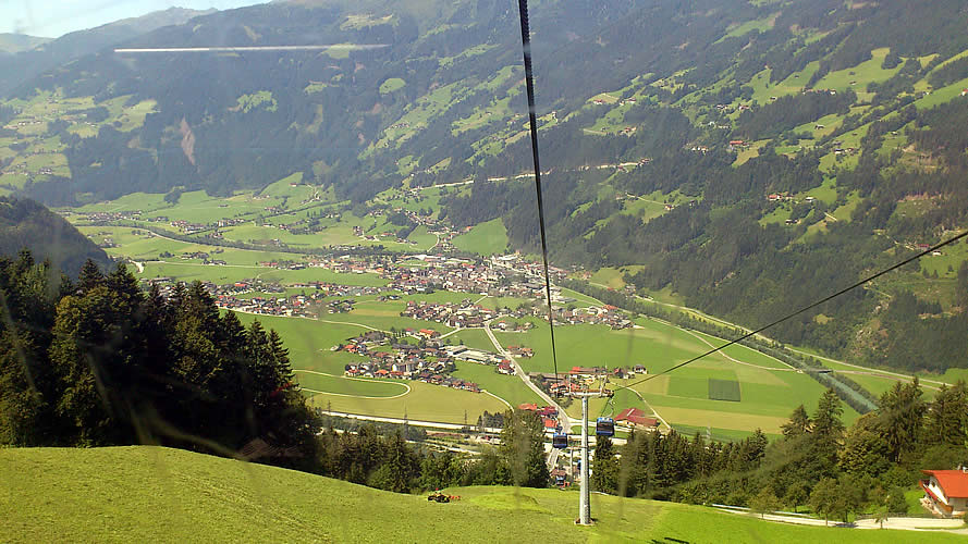 MTB Trails in the Zillertal